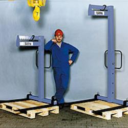 Krangabel mit manuellem Gewichtsausgleich und Höhenverstellung