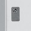 Edelstahl-Nummernschild für Garderobenschränke Classic + Comfort