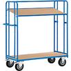 Etagenwagen mit 2 verstellbaren Böden