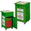 Großer Altbatterie-Sammelbehälter