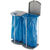 Großvolumiges Abfall-Trennsystem