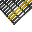 Industriematte +11, Schwarz/Gelb, 10 m-Rolle