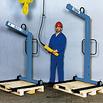 Krangabel mit automatischem Gewichtsausgleich und Höhenverstellung