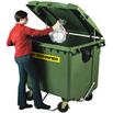 Müll-Großbehälter MGB 770 aus Kunststoff