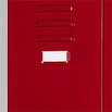 Papieretiketten und Folien für Spind-/Fächertüren