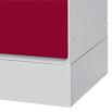 Vollblechsockel für Garderobenschränke Classic + Comfort