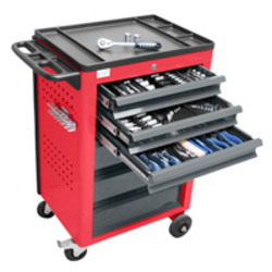 Werkzeugwagen BASIC, inkl. 115 tlg. Werkzeug-Set